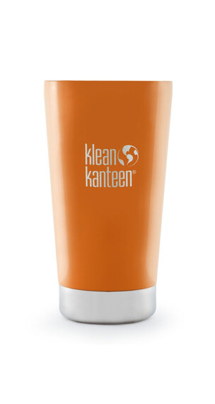 Klean Kanteen Tumbler Drinkfles Vacuum Insulated 473ml oranje